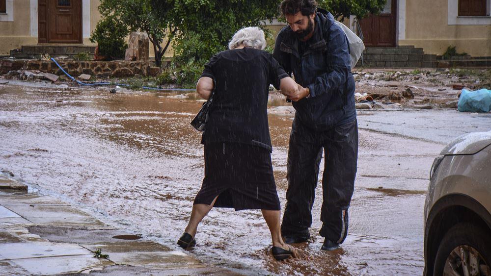 Θεσσαλονίκη: Ένας νεκρός από την ισχυρή βροχόπτωση