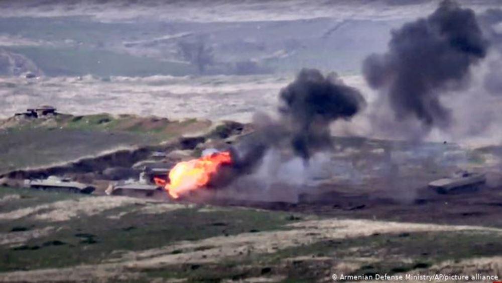Αρμενία: Ευρείας κλίμακας επίθεση από το Αζερμπαϊτζάν στο νότιο τμήμα του Ναγκόρνο Καραμπάχ