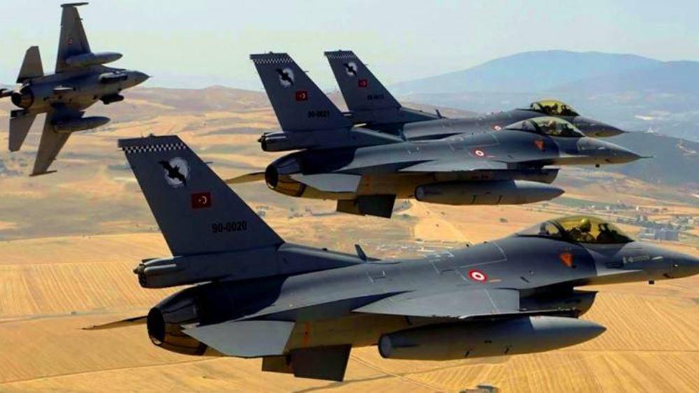 Τουρκία: Οι ένοπλες δυνάμεις έπληξαν 181 κουρδικούς στόχους