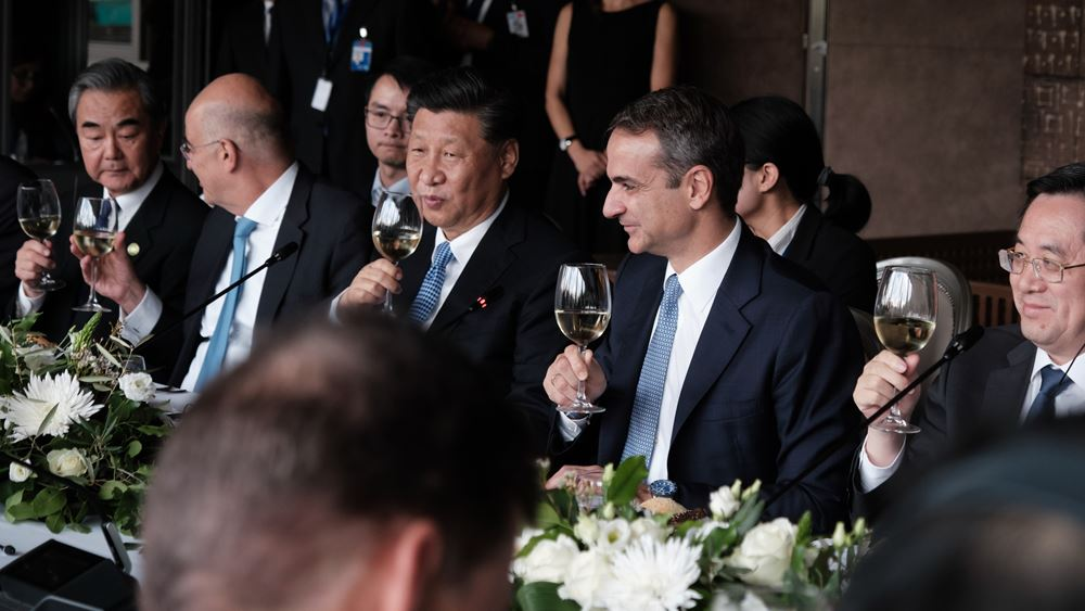 Η επανένωση των γλυπτών του Παρθενώνα αιχμή του χαιρετισμού Μητσοτάκη στο γεύμα με Σι Τζινπίνγκ