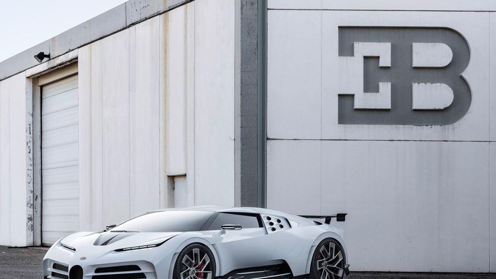 Σπονδή στην Bugatti ΕΒ 110