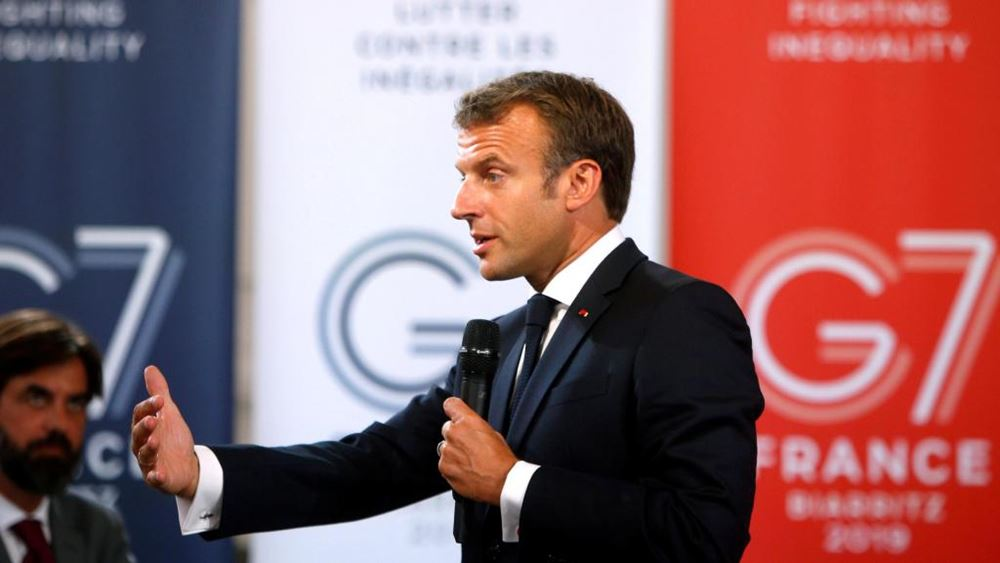 G7: Διαψεύδει ο Μακρόν τα περί πρωτοβουλίας διαπραγματεύσεων με την Τεχεράνη