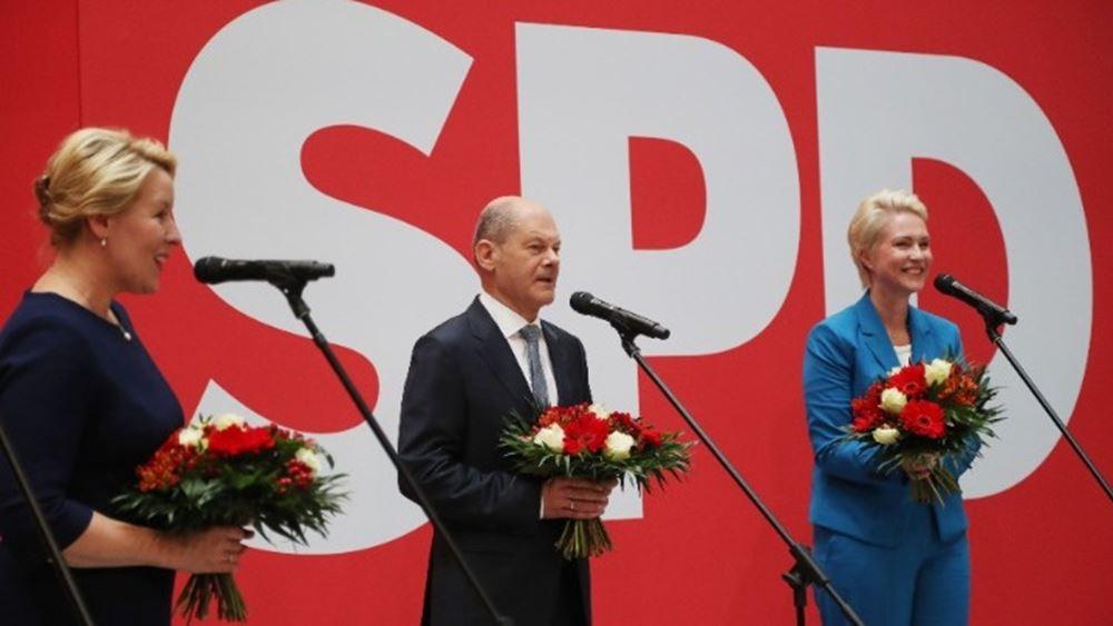 Η επόμενη ημέρα στη Γερμανία - Κυβέρνηση με Πράσινους και Φιλελεύθερους επιδιώκει ο Σολτς