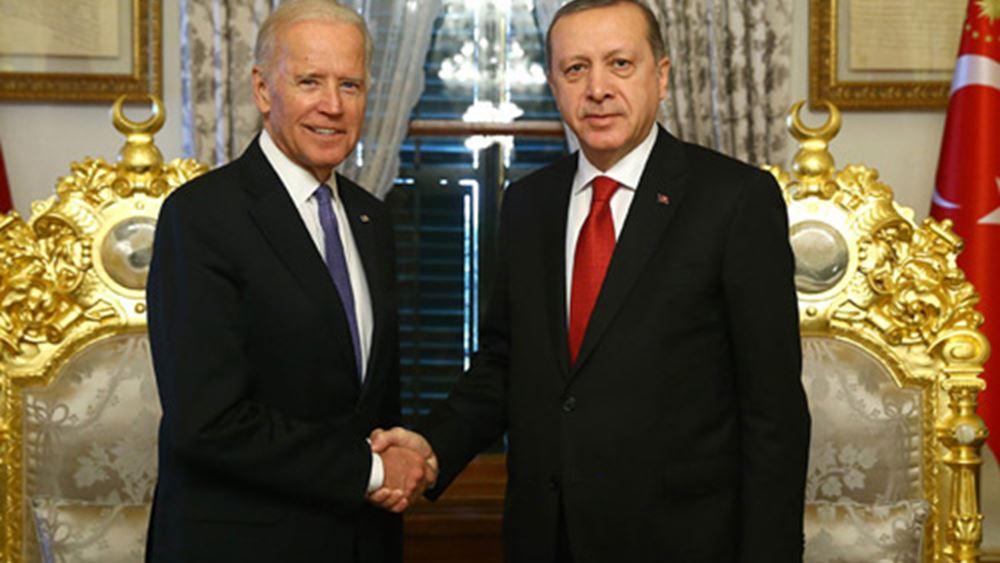 Τα σημεία τριβής ΗΠΑ και Τουρκίας ενόψει της συνάντησης Μπάιντεν - Ερντογάν