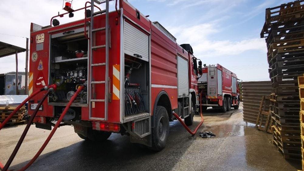 Βόλος: Φωτιά περιμετρικά της πόλης - Απειλούνται κατοικημένες περιοχές