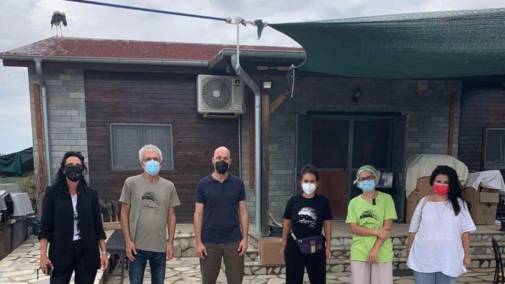 ΥΠΕΝ: Προοπτική δημιουργίας Νοσοκομείου Περίθαλψης Άγριας Ζωής στη Θεσσαλονiκη συζήτησε ο Γ. Αμυράς