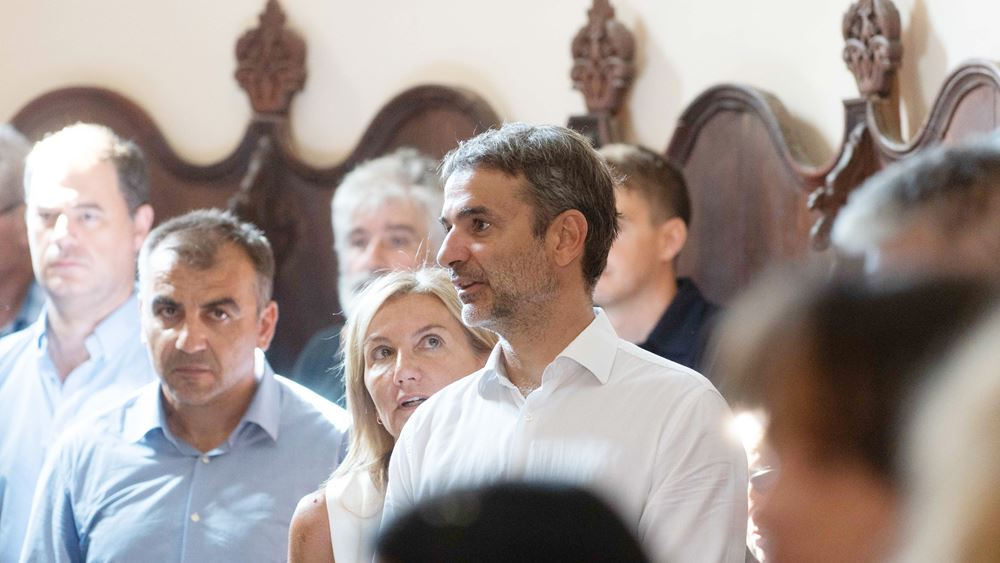 Η θετική ψήφος των πολιτών βασική επιδίωξη του Κ. Μητσοτάκη