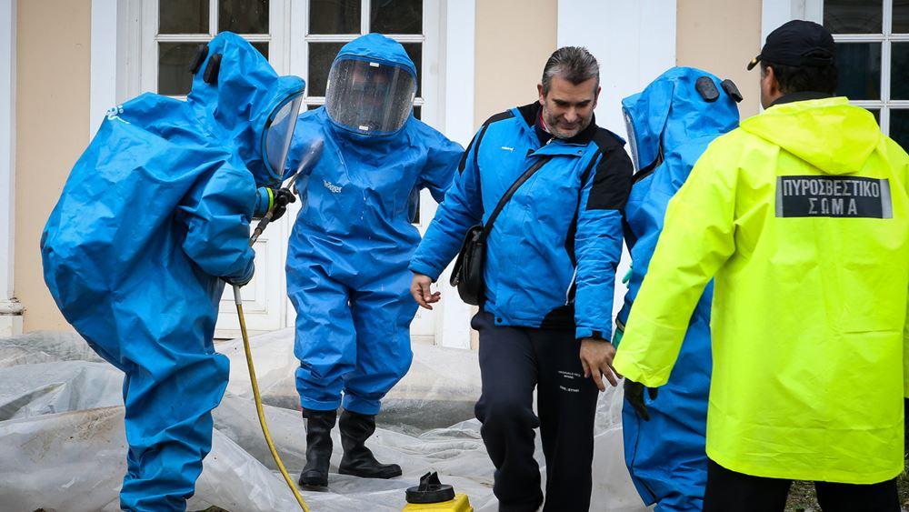 Στο Γενικό Χημείο του κράτους για ανάλυση έχουν μεταφερθεί οι 11 ύποπτοι φάκελοι