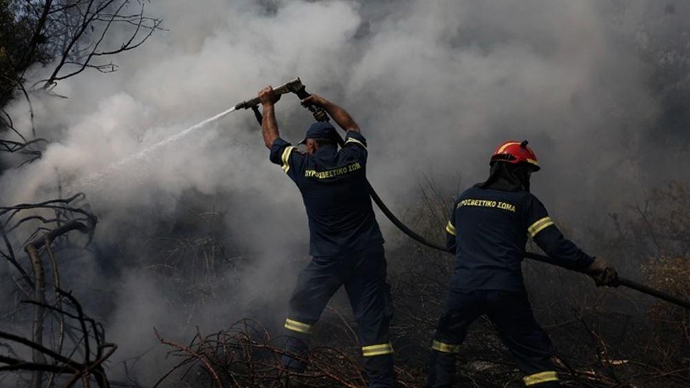 Ανεξέλεγκτη η πυρκαγιά στην Εύβοια - Απομακρύνει εγκλωβισμένους πολίτες από τις Ροβιές το Λιμενικό
