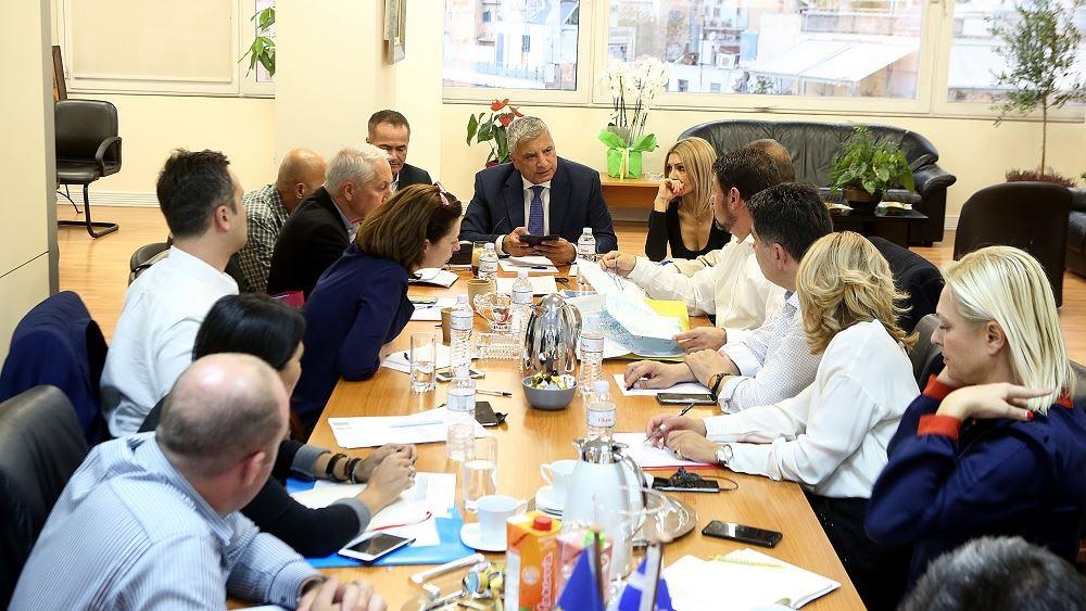 Ευρεία σύσκεψη υπό τον Περιφερειάρχη Γ. Πατούλη για τα ρέματα της Αττικής