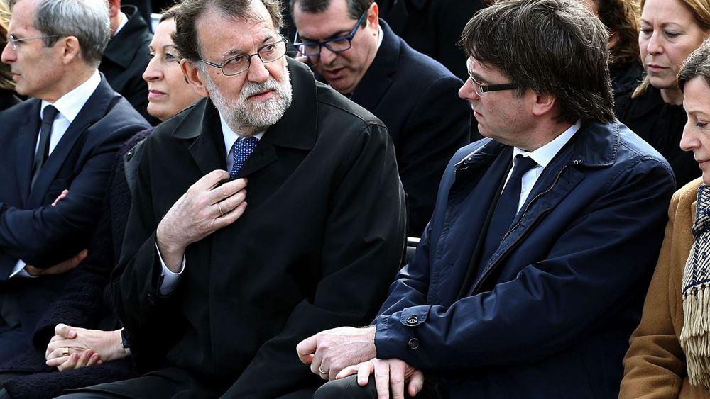 Στη Μαδρίτη και επισήμως ο έλεγχος της Καταλονίας