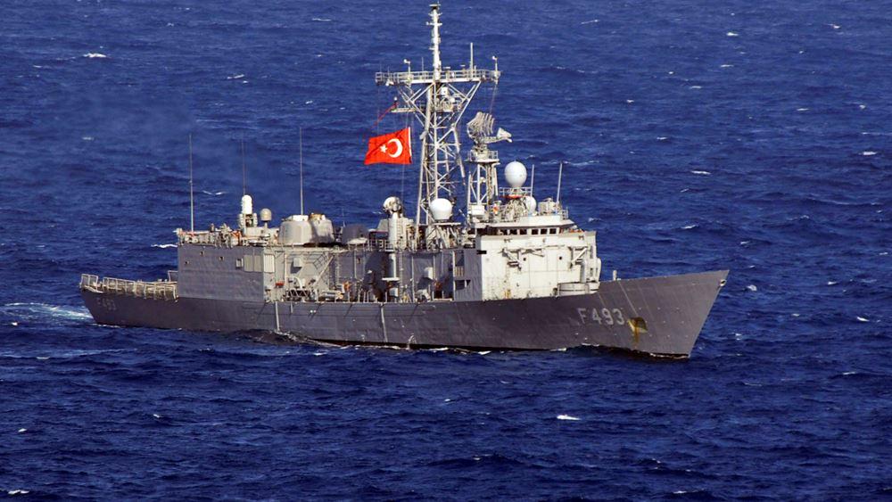 Τούρκοι πραξικοπηματίες κατέλαβαν φρεγάτα