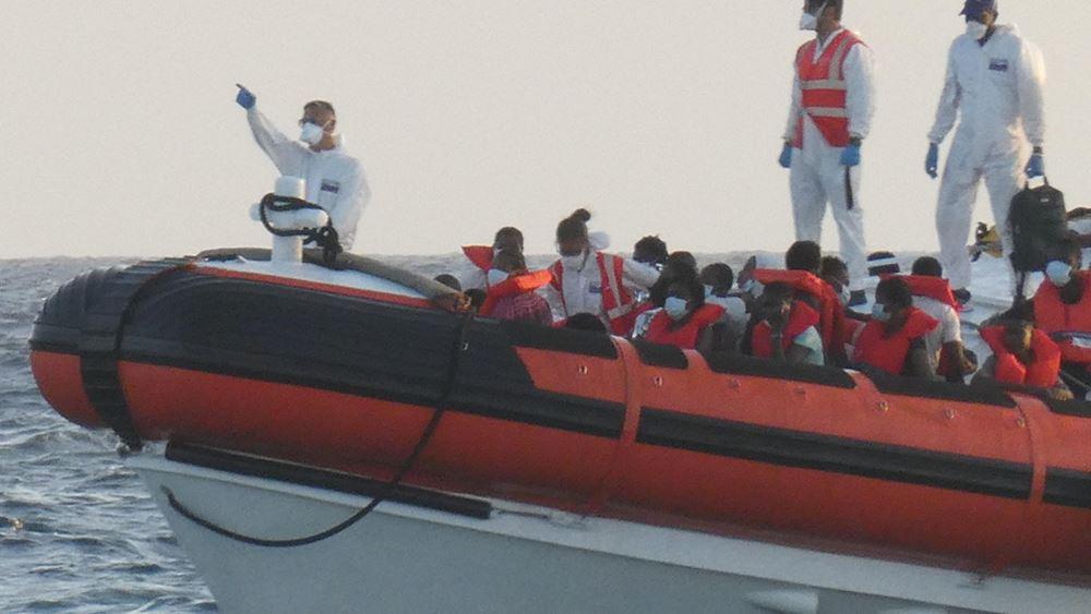 Ιταλία: Διασωστικό σκάφος που μετέφερε 257 μετανάστες έδεσε σε λιμάνι της Σικελίας