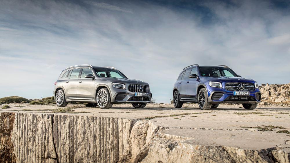 Η ξεχωριστή νέα Mercedes-Benz GLB (vid.)