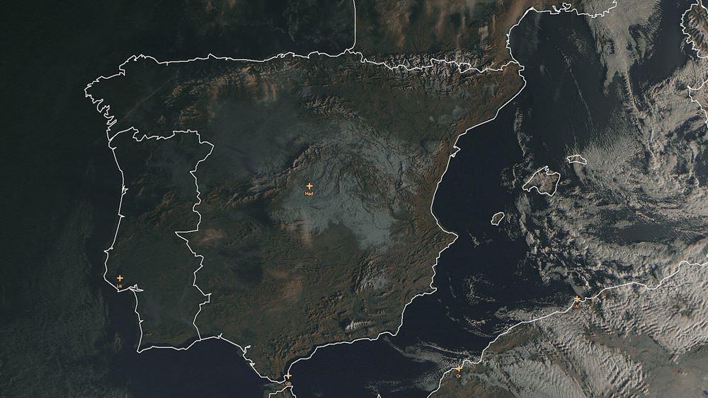 Ισπανία: Η κυβέρνηση κήρυξε ζώνες καταστροφής τη Μαδρίτη και άλλες περιοχές που επλήγησαν από την καταιγίδα Φιλομένα