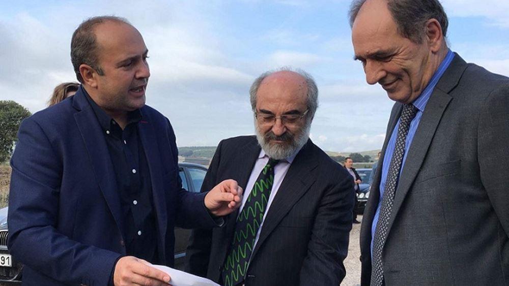 Επίσκεψη Γ. Σταθάκη στο γεωθερμικό πεδίο της Αλεξανδρούπολης