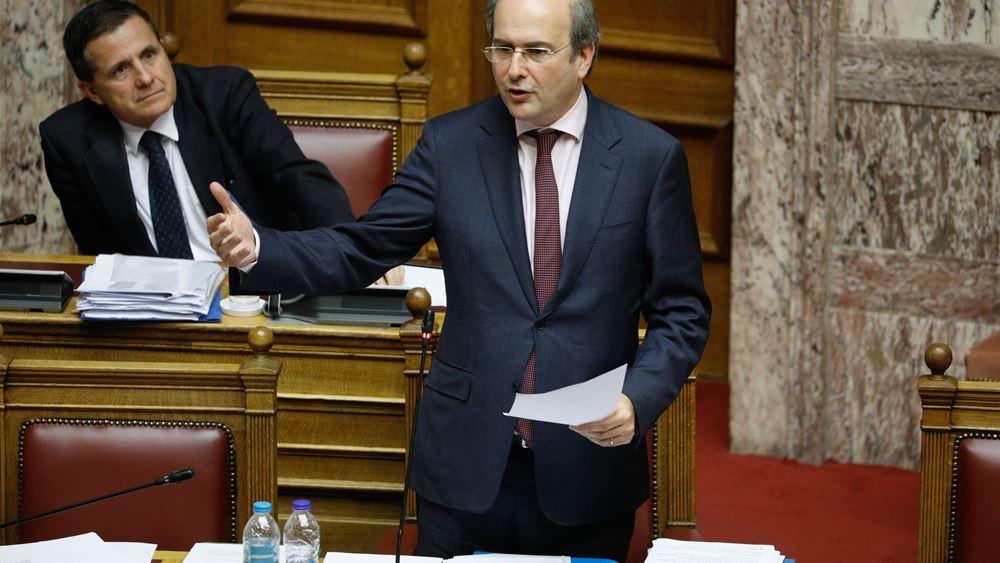 Κ. Χατζηδάκης: Εκσυγχρονίζεται η χωροταξική και πολεοδομική νομοθεσία με το νέο νομοσχέδιο
