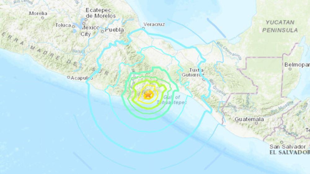 Σεισμός 7,5 Ρίχτερ στο Μεξικό: Οι κάτοικοι ειδοποιήθηκαν από σειρήνες λίγο νωρίτερα