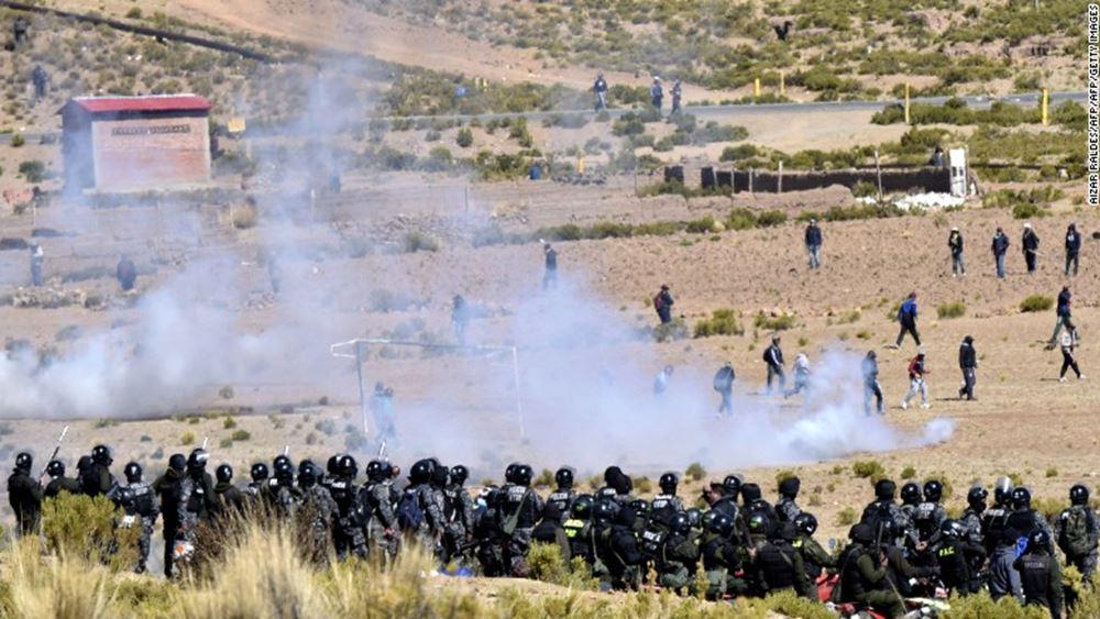 Συνεχίζονται οι ταραχές κατά Μοράλες στη Βολιβία - Ένας διαδηλωτής σε κρίσιμη κατάσταση