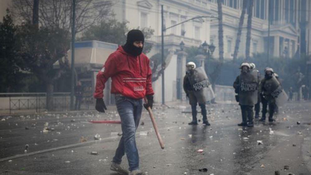 Δίωξη για δύο κακουργήματα και 6 πλημμελήματα στους 7 συλληφθέντες στο συλλαλητήριο