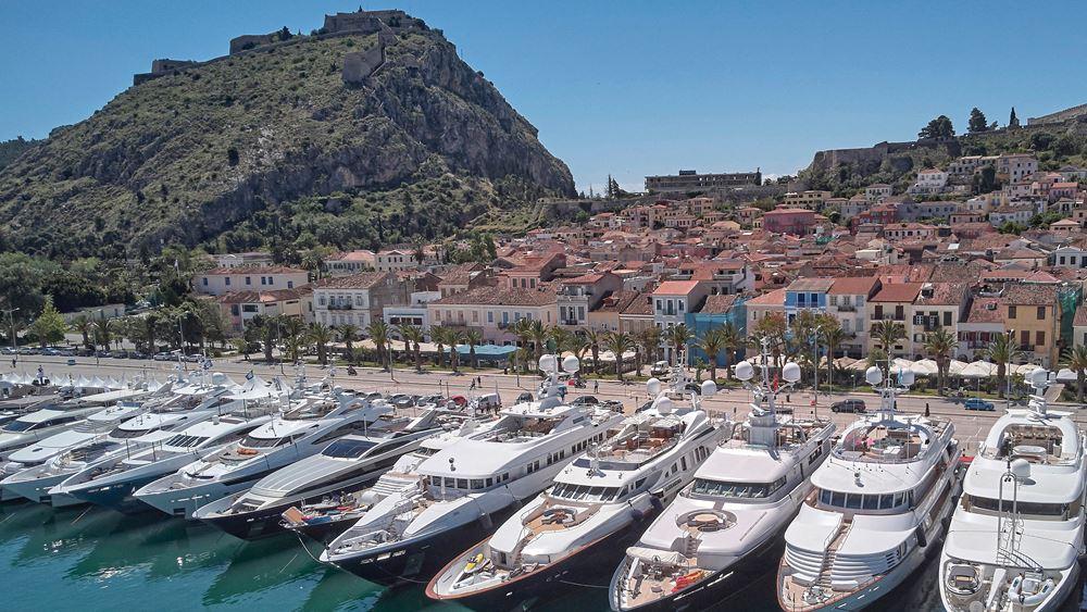 Τον Απρίλιο του 2021 επιστρέφει το 7ο Mediterranean Yacht Show στο Ναύπλιο