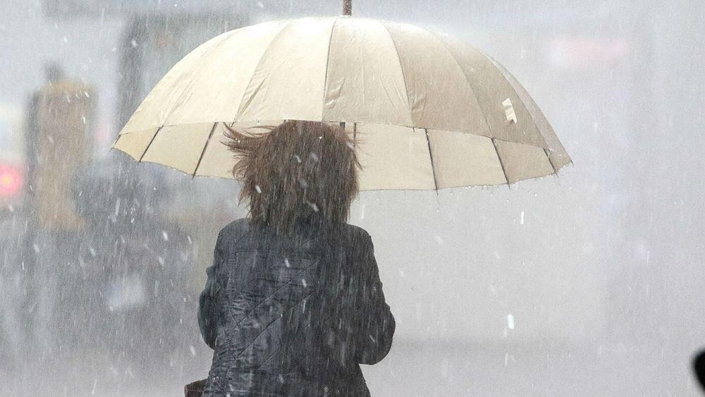 Κακοκαιρία: Πού θα σημειωθούν ισχυρές βροχές και καταιγίδες