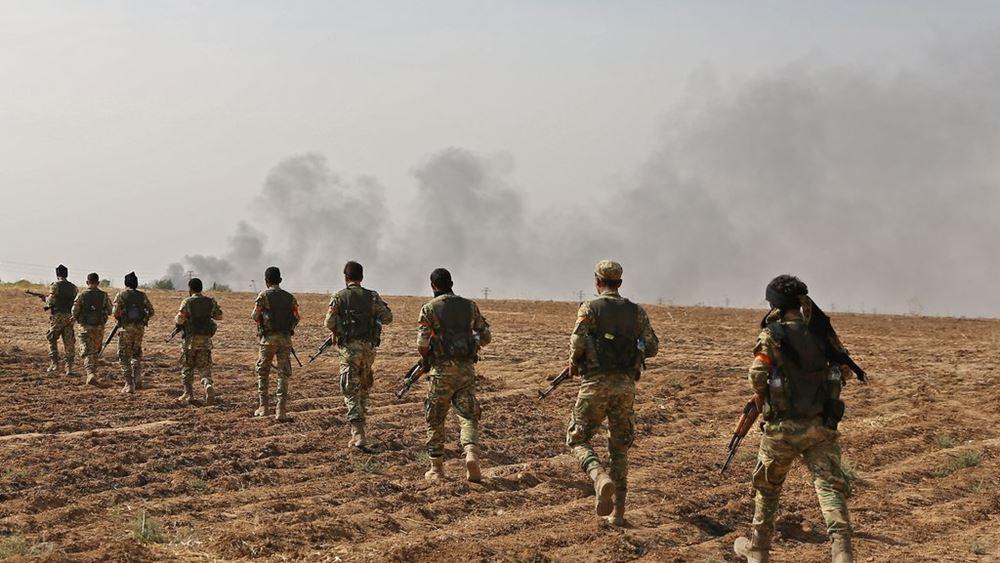 """ΗΠΑ: Οι Κούρδοι μαχητές αποχώρησαν από την """"ασφαλή ζώνη"""""""