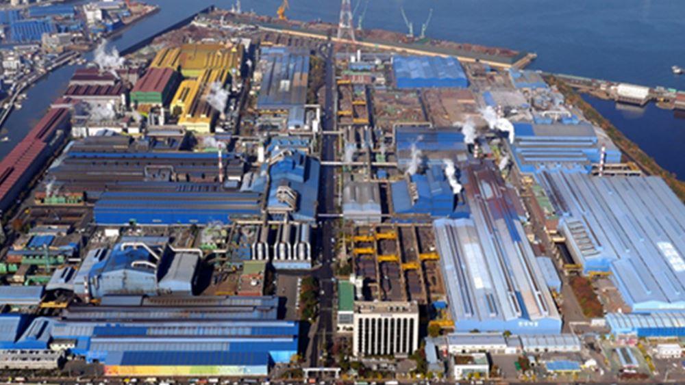 Διευρύνθηκαν οι ζημιές της Hyundai Steel στο τρίμηνο
