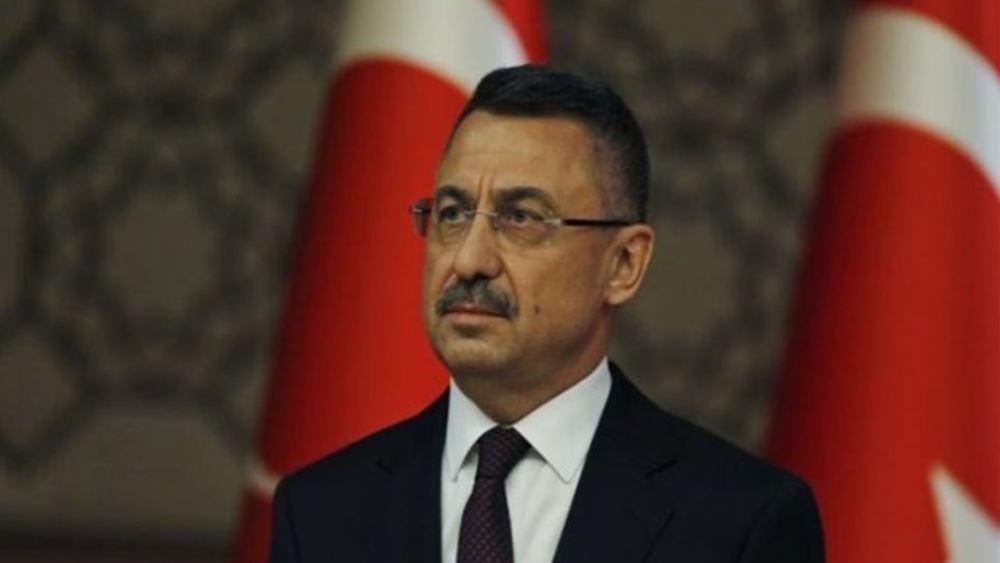 Αντιπρόεδρος Τουρκίας: Απόλυτη η αποφασιστικότητά μας για τις γεωτρήσεις