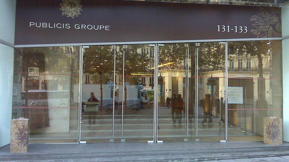 Αυξήθηκαν 1,2% τα έσοδα της Publicis Groupe στο τρίμηνο