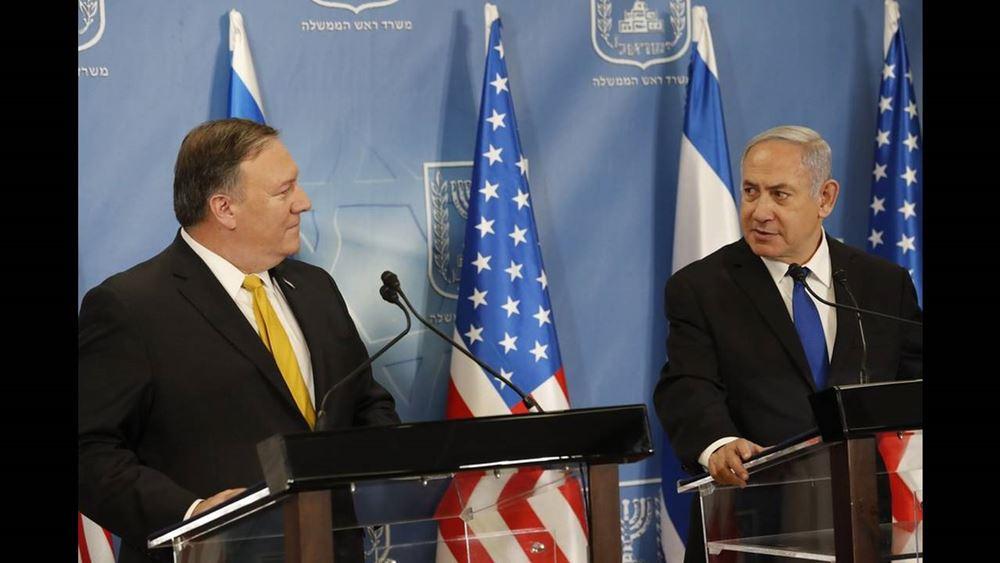 Οι Νετανιάχου και Πομπέο συζήτησαν για τη Συρία και το Ιράν