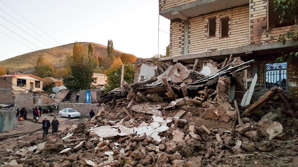 Ιράν: Στους έξι ανέρχονται τα θύματα του σεισμού μεγέθους 5,8 βαθμών Ρίχτερ