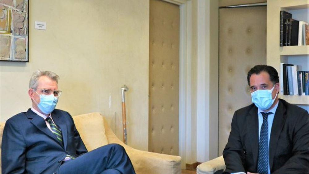 Συνάντηση Γεωργιάδη-Πάιατ για ελληνοαμερικανικές σχέσεις, με τη νέα κυβέρνηση των ΗΠΑ