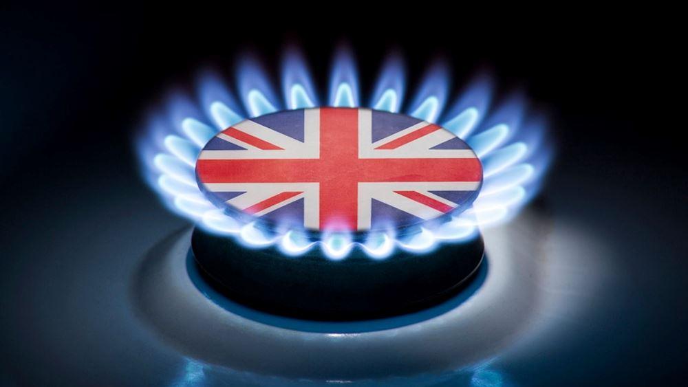 Βρετανια φυσικο αεριο