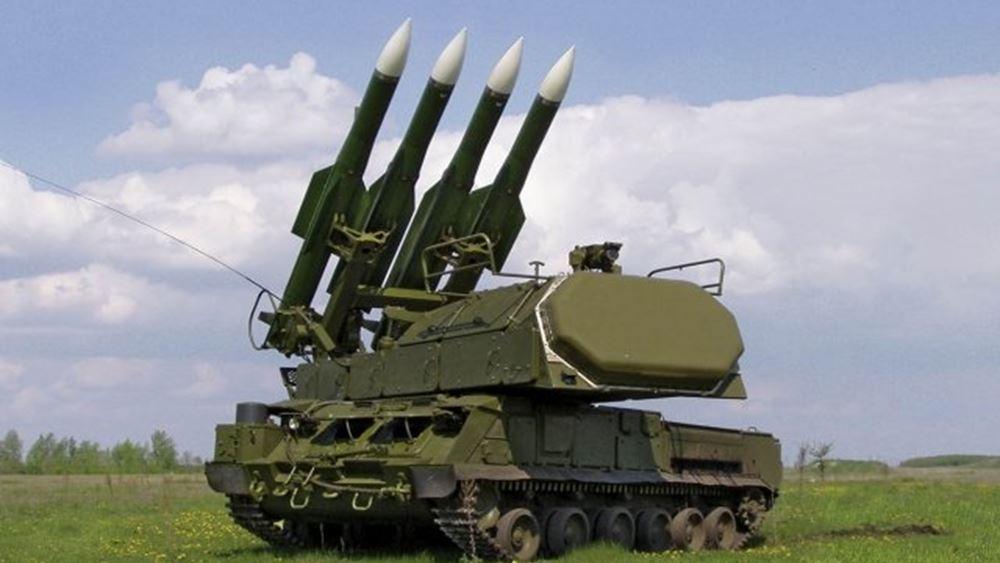 Ρωσικά πυραυλικά συστήματα Buk έφτασαν στις αποθήκες των δυνάμεων του Χαφτάρ