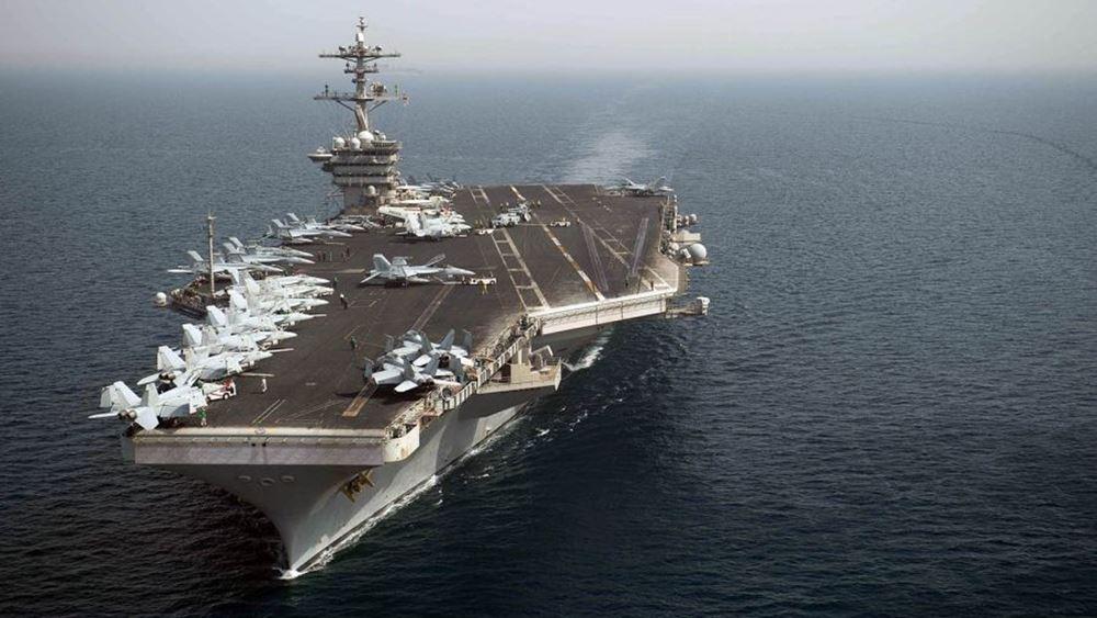 """ΗΠΑ: Άνω του 10% του πληρώματος του αεροπλανοφόρου """"Θίοντορ Ρούζβελτ"""" θετικό στον κορονοϊό"""
