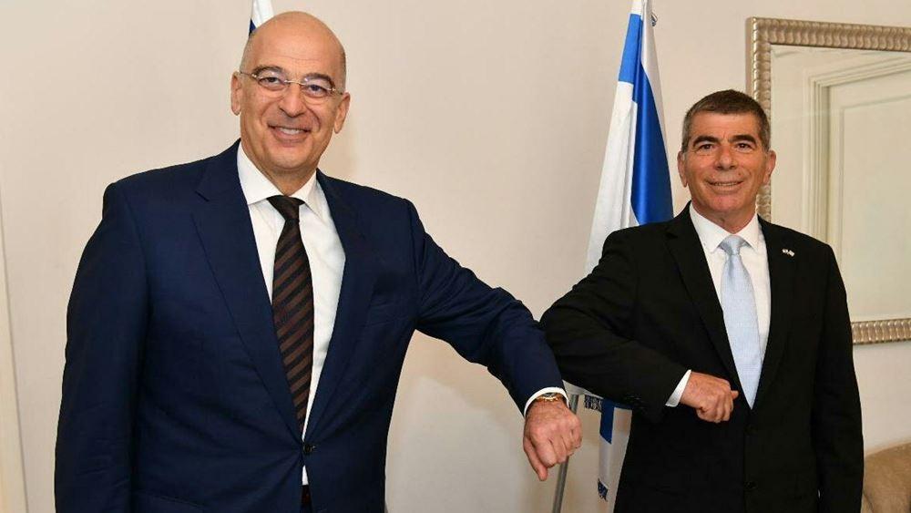 Ο ΥΠΕΞ του Ισραήλ εξέφρασε στον Ν. Δένδια αλληλεγγύη και συμπαράσταση