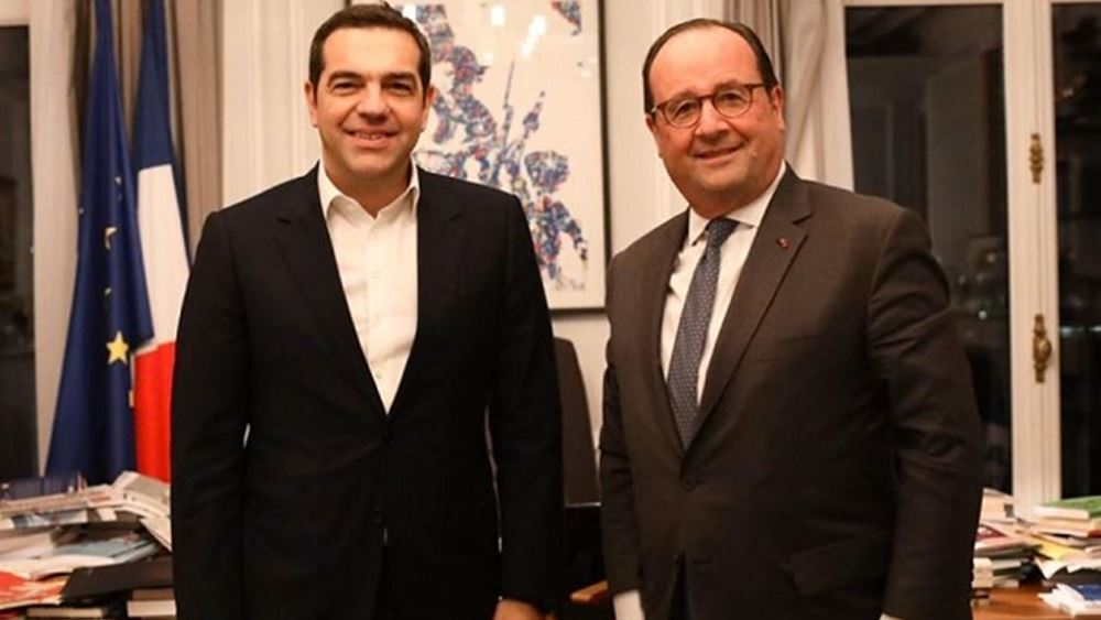 Τι συζήτησαν Τσίπρας- Ολάντ στο Παρίσι