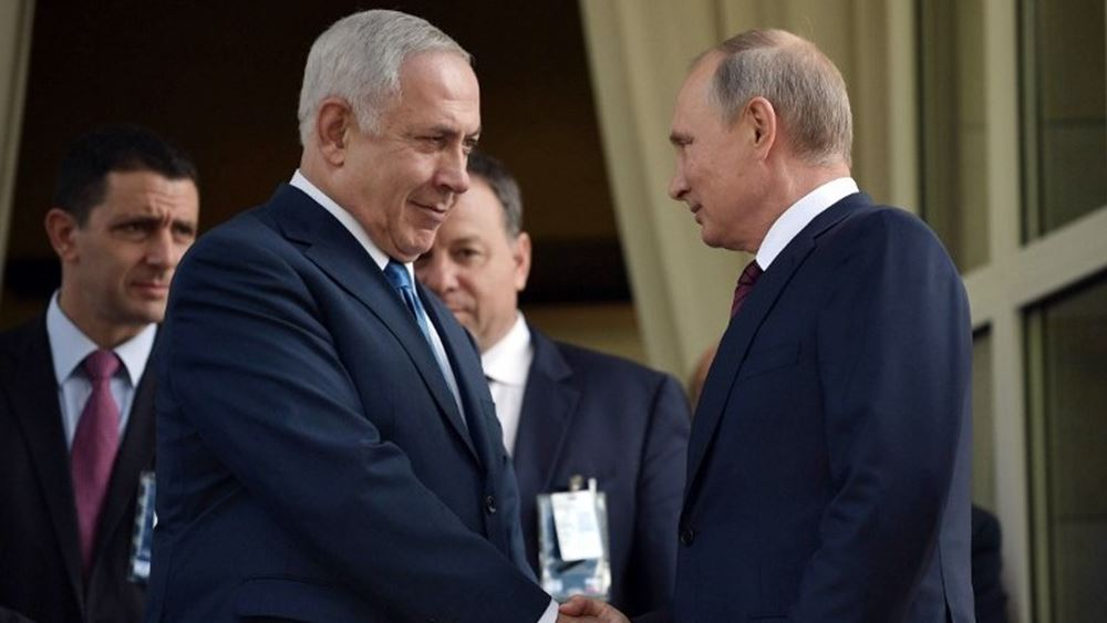 Συνάντηση Πούτιν - Νετανιάχου αύριο στο Σότσι