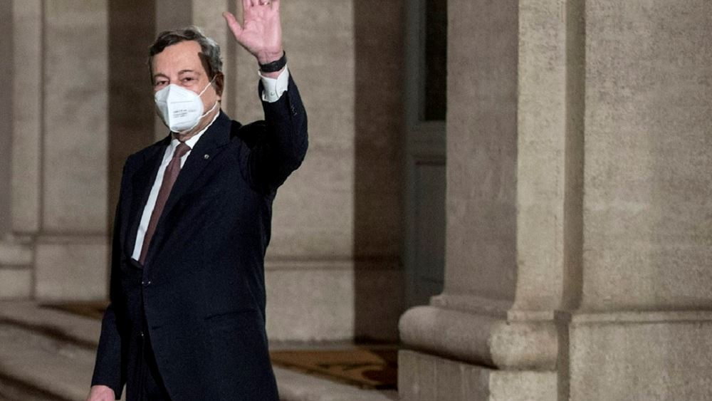 Kυβέρνηση Ντράγκι: Θετικά τα πρώτα σχόλια των πολιτικών