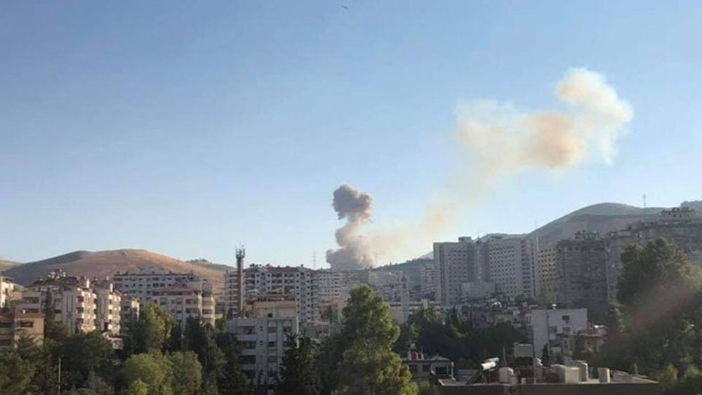 Συρία: Πλήγμα σε κτήριο στη Δαμασκό - Στόχος στέλεχος του παλαιστινιακού Ισλαμικού Τζιχάντ