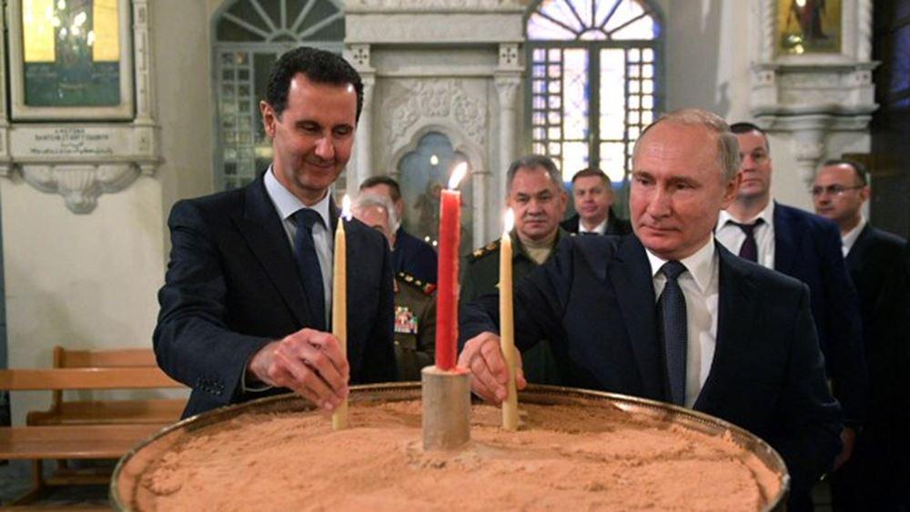 """Άσαντ και Πούτιν σχεδιάζουν να χτίσουν """"μίνι Αγιά Σοφιά"""" στην επαρχία Χάμα της Συρίας"""