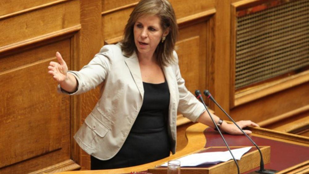 Χριστοφιλοπούλου: Η 4ετία Τσίπρα κατέστρεψε τον εκδημοκρατισμό της ΕΛΑΣ