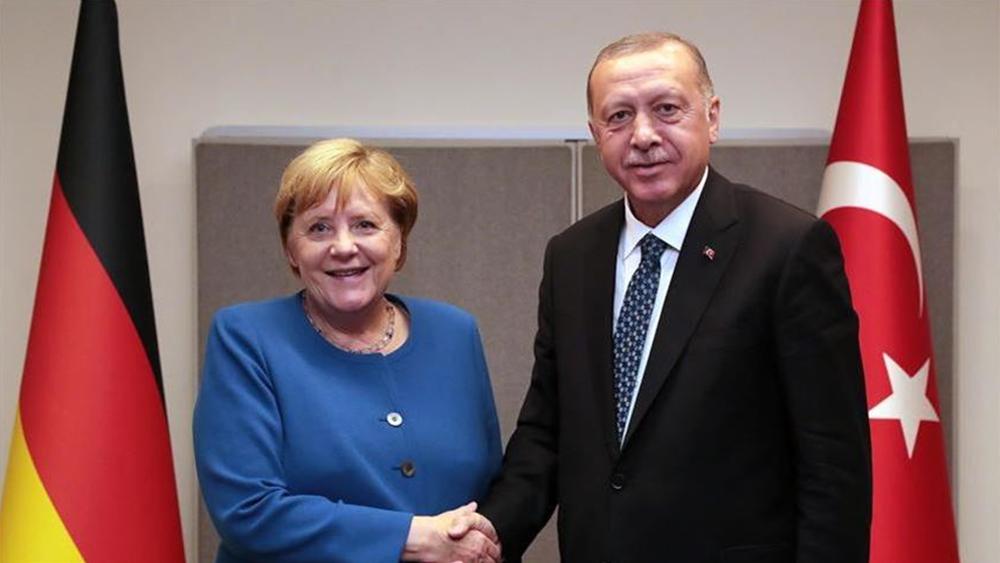 Τηλεφωνική επικοινωνία Μέρκελ - Ερντογάν