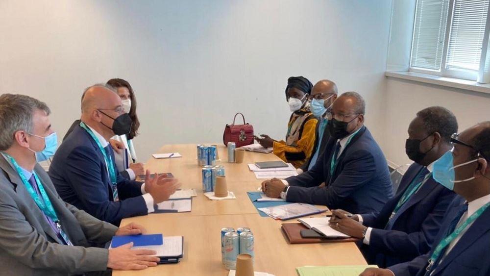 Συναντηση Δενδια ΥΠΕΞ Νιγηρα 28.06.2021