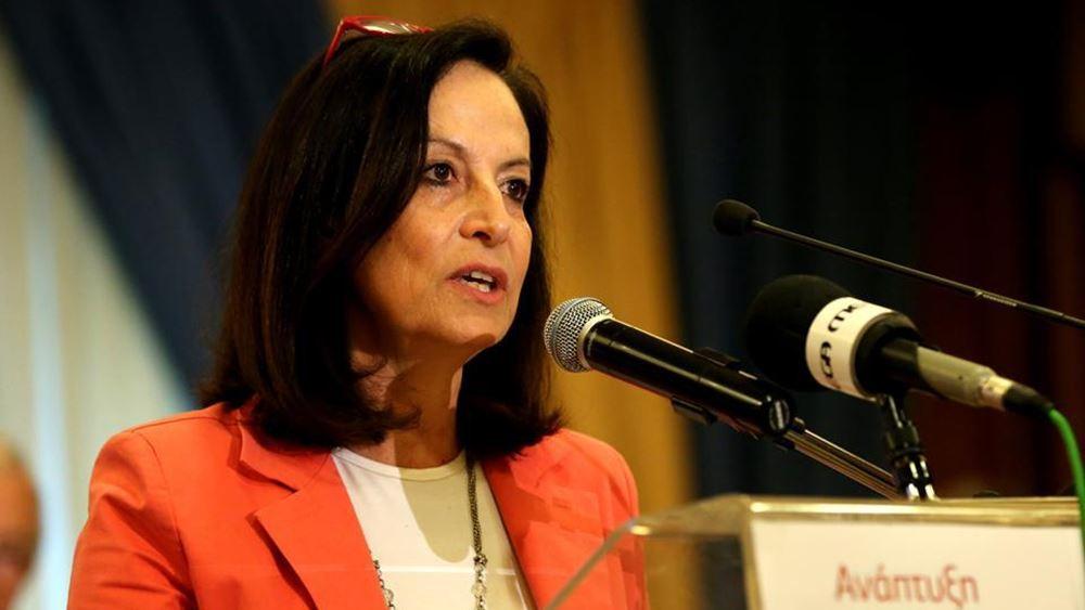 Άννα Διαμαντοπούλου: Η εκλογή Σακελλαροπούλου στην Προεδρία της Δημοκρατίας δημιουργεί θετικά πρότυπα