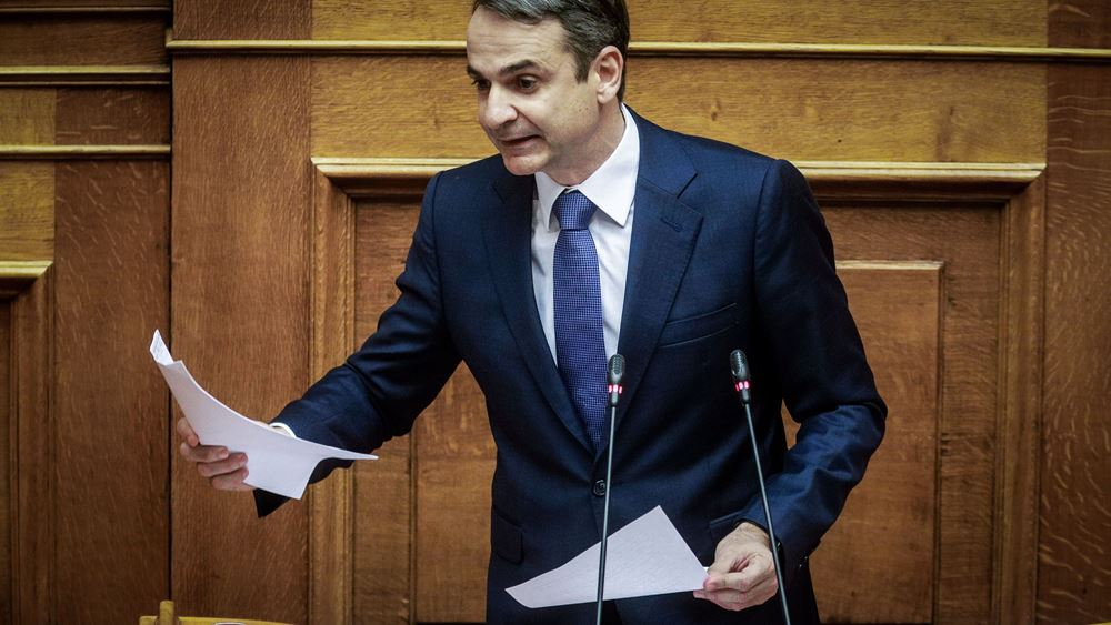 """Κ. Μητσοτάκης: Όπλο μου το """"βέτο"""" στη διαδικασία ένταξης της πΓΔΜ στην Ε.Ε."""