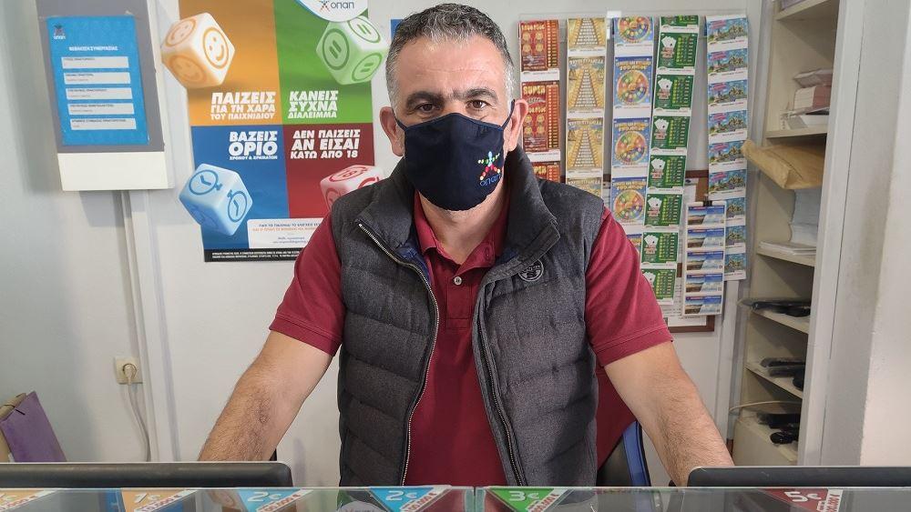 Στο Σουφλί 'Έβρου ο νικητής των 2,1 εκατ. ευρώ στο ΤΖΟΚΕΡ