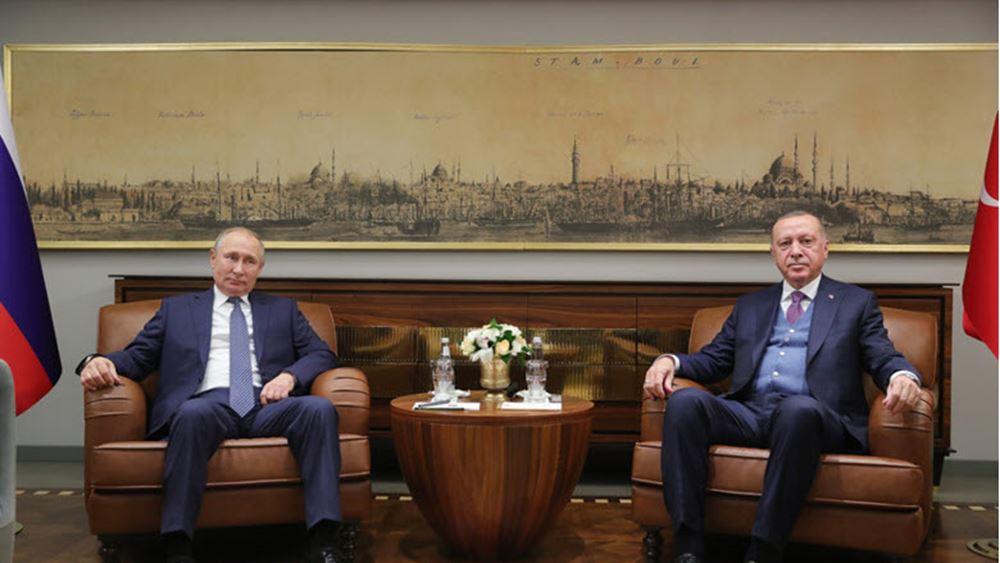 Πούτιν και Ταγίπ Ερντογάν συζητούν για τη σύγκρουση μεταξύ Αρμενίας και Αζερμπαϊτζάν