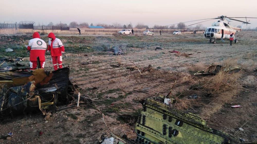 Τεχεράνη: Νεκροί όλοι οι επιβαίνοντες του ουκρανικού Boeing 737 που συνετρίβη